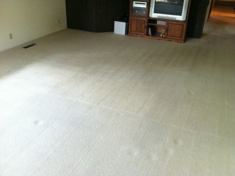 white carpet cleaning-after